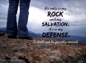 Psalm 62 Jesus is My Defense