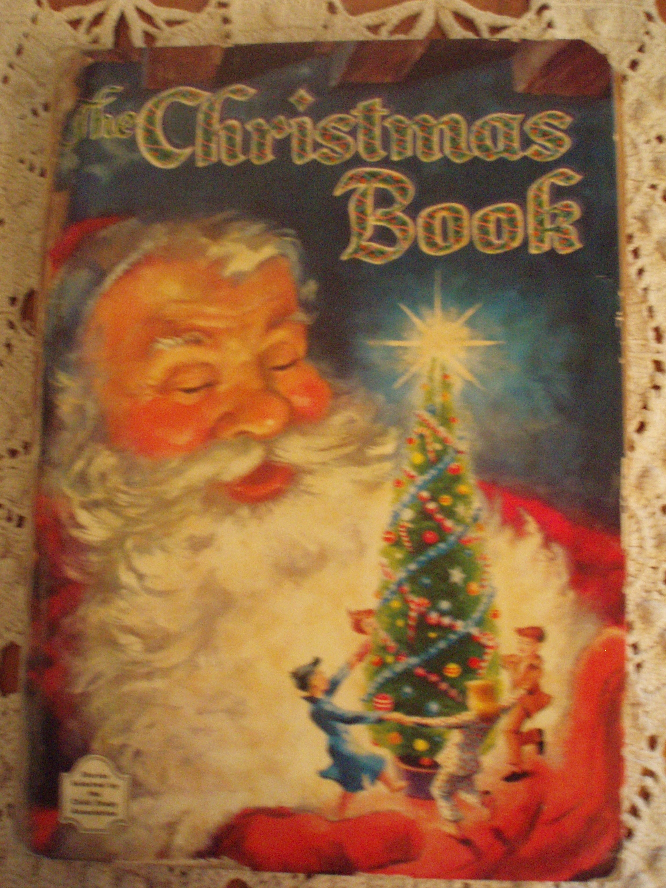 one of the books my family owned when i grew up was a whitman giant book the christmas book a collection of forty five christmas stories and poems
