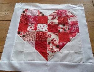 Trust Quilt Heart Block