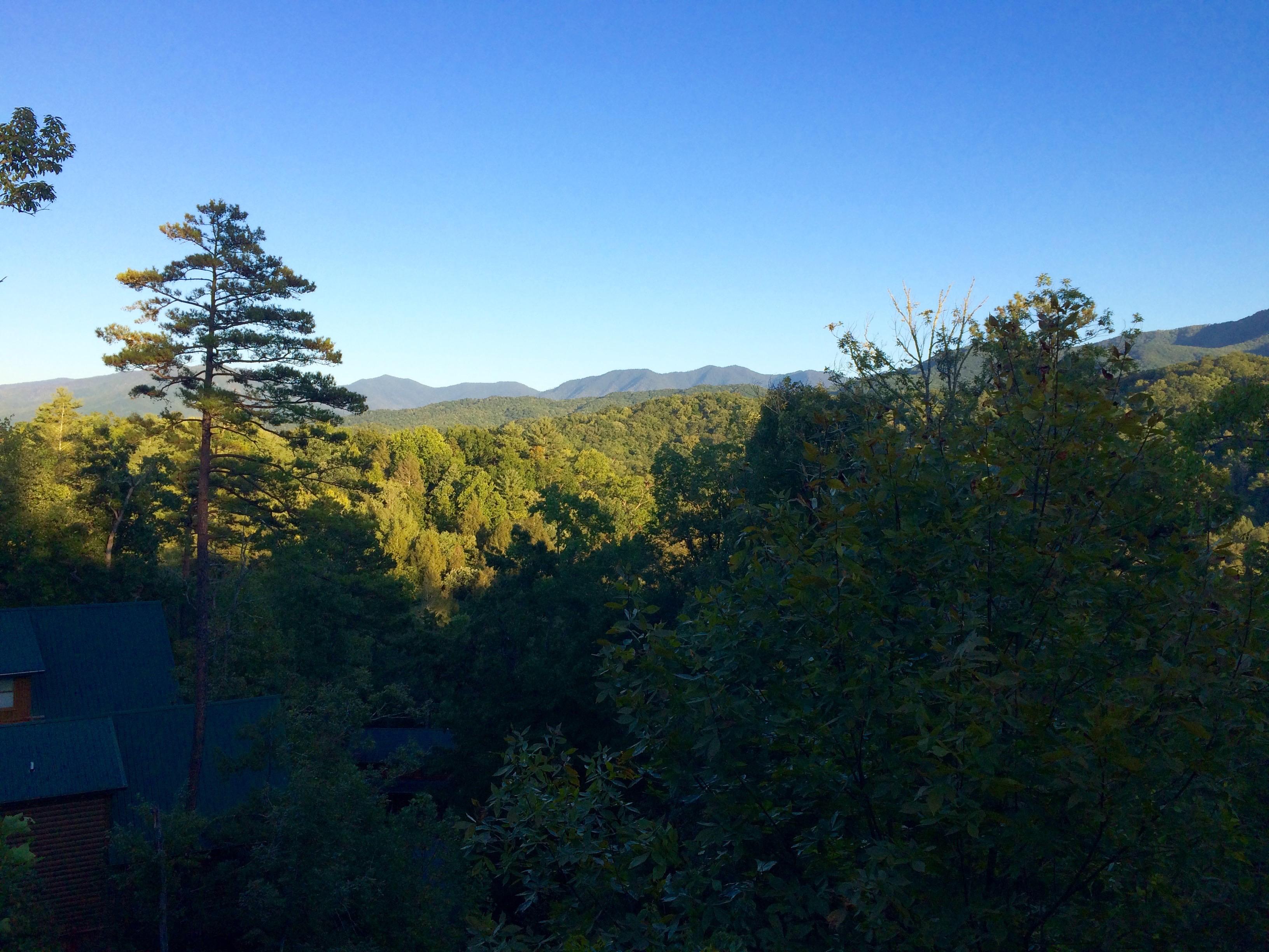When god speaks in the mountains inspire a fire for God s gift cabin gatlinburg