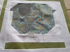 Woolly Sheep Quilt Block
