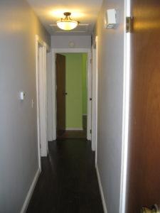 Hallway. Waiting.