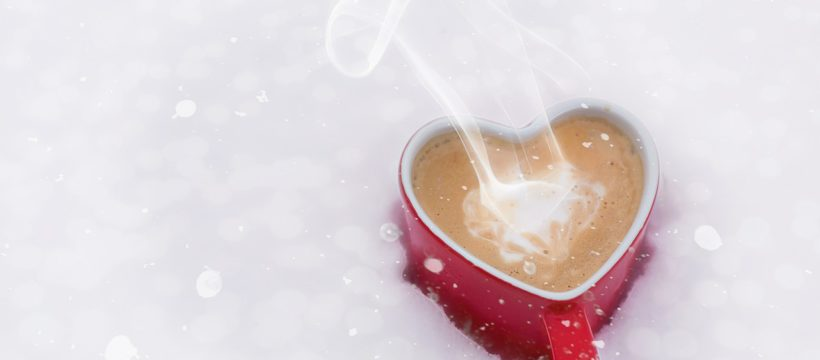 warm the heart with a mug